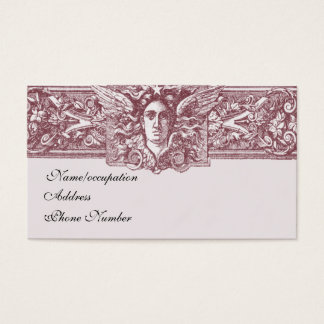 Empire (Aubergine on lilac background) Business Card