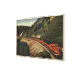 Empire Builder Train Canvas Print