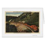 Empire Builder Train Card
