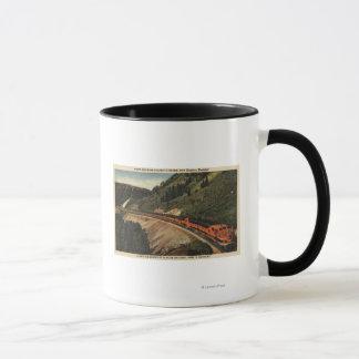 Empire Builder Train Mug
