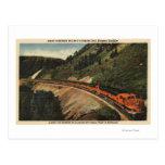 Empire Builder Train Postcard