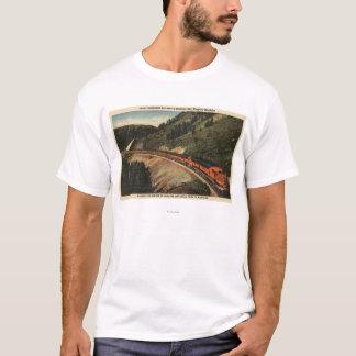Empire Builder Train T-Shirt