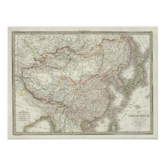 Empire Chinois, Japon - Chinese Empire and Japan Poster