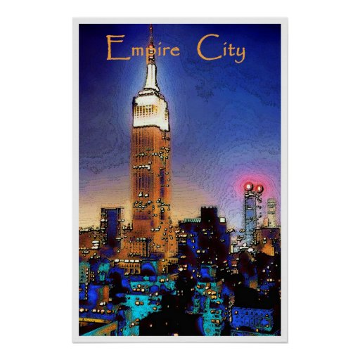 Empire City, poster