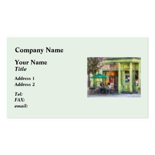 Empire Coffee and Tea Double-Sided Standard Business Cards (Pack Of 100)