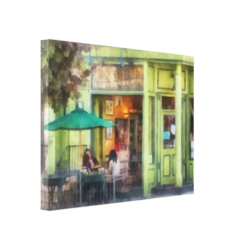 Empire Coffee and Tea Canvas Prints