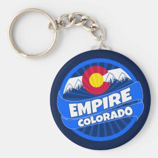 Empire Colorado flag burst keychain