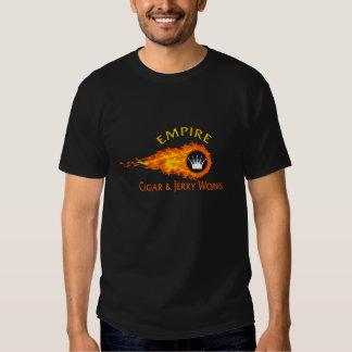 Empire Flames Design T-shirt