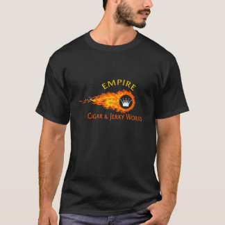 Empire Flames Design T-Shirt