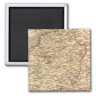 Empire Francais et Royaume d'Italie en 1809 Magnet