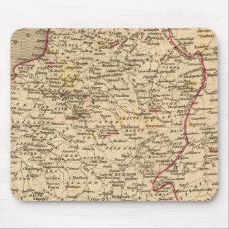 Empire Francais et Royaume d'Italie en 1809 Mouse Pad
