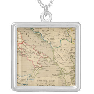 Empire Grec et Royaume d'Italie 774 a 900 Silver Plated Necklace
