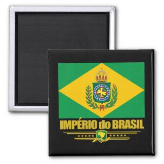 Empire of Brazil 2 Inch Square Magnet