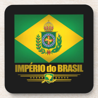"""Empire of Brazil"" Drink Coasters"