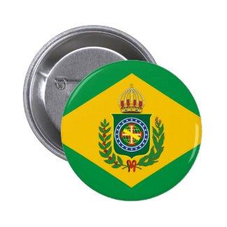 Empire of Brazil flag Button