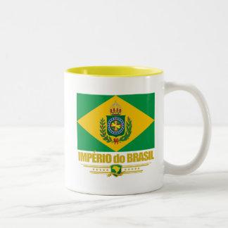 Empire of Brazil Two-Tone Coffee Mug