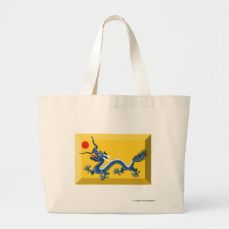 Empire of China Flag Jewel Tote Bags