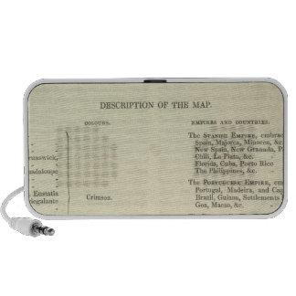 Empire of Napoleon Bonaparte 1811 AD 2 Portable Speaker