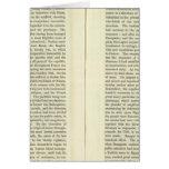 Empire of Napoleon Bonaparte 1811 AD 3 Greeting Card