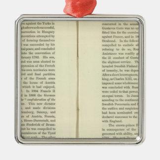 Empire of Napoleon Bonaparte 1811 AD 4 Metal Ornament