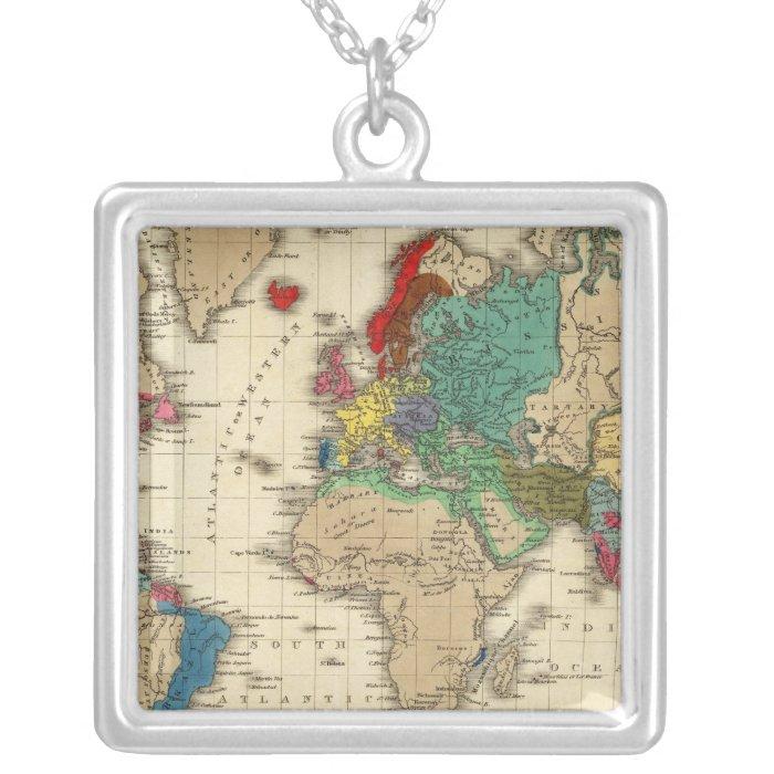 Empire of Napoleon Bonaparte 1811 AD Silver Plated Necklace