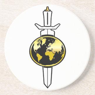 Empire of Terra: TOS Sandstone Coaster