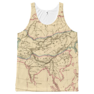 Empire of the Mongols All-Over Print Tank Top