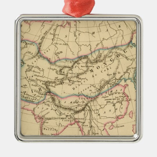 Empire of the Mongols Metal Ornament