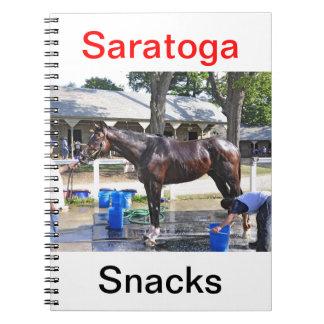 "Empire Stakes Winner ""Saratoga Snacks"" Notebook"