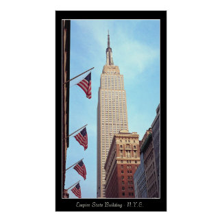 Empire State Bldg. Poster