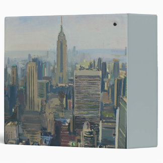 Empire State Building 2012 3 Ring Binder