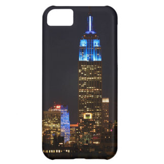 Empire State Building 30 Rock in blue for Autism 2 iPhone 5C Cover