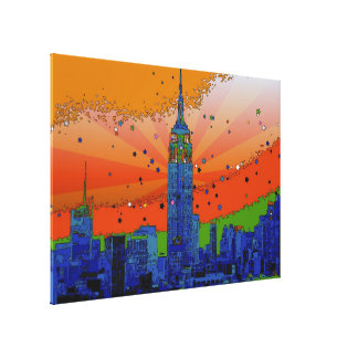 Empire State Building #3 Canvas Print