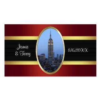 Empire State Building 3 tarjetas del Tarjetas De Visita