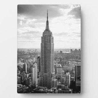 Empire State Building 5x7 Placas De Plastico