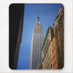 Empire State Building Against The Sky, NYC Mousepads
