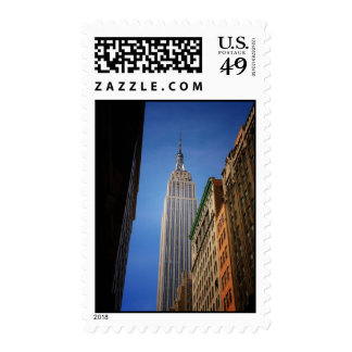 Empire State Building Against The Sky, NYC Stamps
