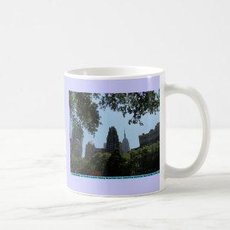 Empire State Building, American Radiator Building Coffee Mug