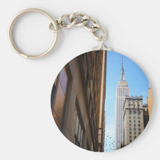 Empire State Building and Birds, New York City Keychain