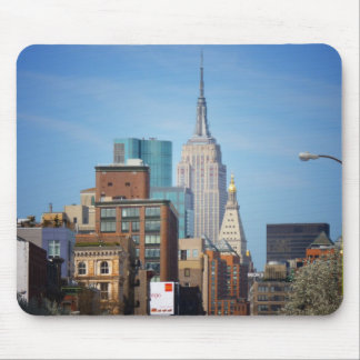 Empire State Building And Downtown NYC Mousepads