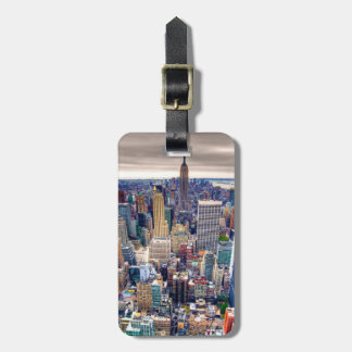 Empire State Building and Midtown Manhattan Bag Tag