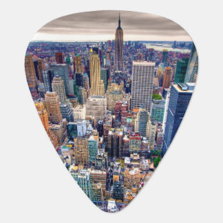 Empire State Building and Midtown Manhattan Guitar Pick