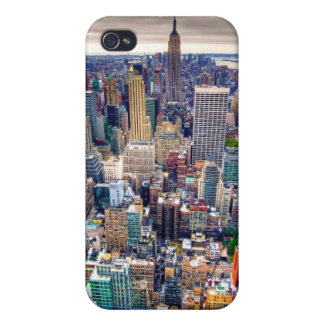 Empire State Building and Midtown Manhattan iPhone 4 Cover