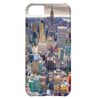 Empire State Building and Midtown Manhattan iPhone 5C Case