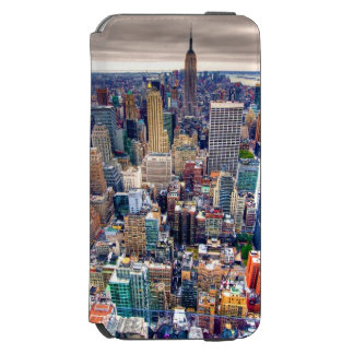 Empire State Building and Midtown Manhattan iPhone 6/6s Wallet Case