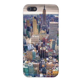 Empire State Building and Midtown Manhattan iPhone SE/5/5s Case