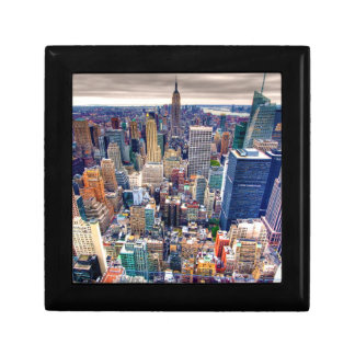 Empire State Building and Midtown Manhattan Jewelry Box