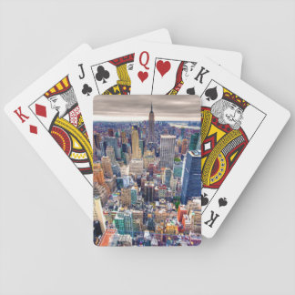 Empire State Building and Midtown Manhattan Playing Cards