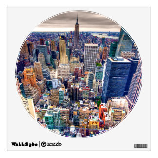 Empire State Building and Midtown Manhattan Wall Decal