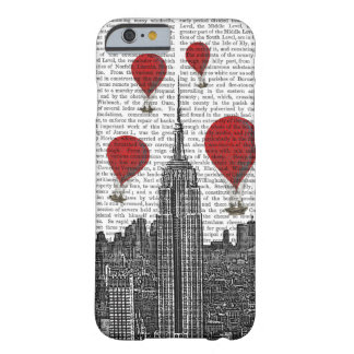 Empire State Building and Red Hot Air Balloons Barely There iPhone 6 Case